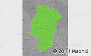 Political Map of Emsland, desaturated