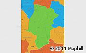 Political Map of Emsland