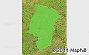 Political Map of Emsland, satellite outside