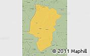 Savanna Style Map of Emsland
