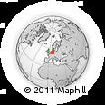 Outline Map of Emsland