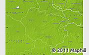 Physical Map of Oldenburg