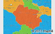 Political Map of Oldenburg