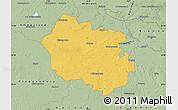 Savanna Style Map of Oldenburg