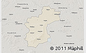 Map Of Vechta Germany.Shaded Relief 3d Map Of Vechta