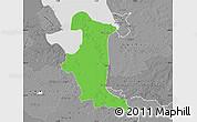 Political Map of Wesermarsch, desaturated