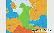 Political Map of Wesermarsch