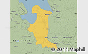 Savanna Style Map of Wesermarsch