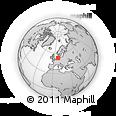 Outline Map of Wesermarsch