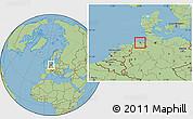 Savanna Style Location Map of Wilhelmshaven