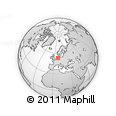 Outline Map of Wilhelmshaven
