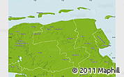 Physical Map of Wittmund