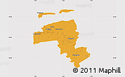 Political Map of Wittmund, cropped outside