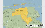 Savanna Style Map of Wittmund