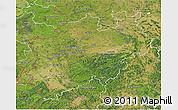 Satellite 3D Map of Nordrhein-Westfalen