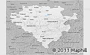 Gray 3D Map of Arnsberg