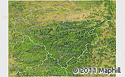 Satellite 3D Map of Arnsberg