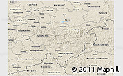 Shaded Relief 3D Map of Arnsberg