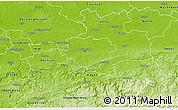 Physical 3D Map of Dortmund