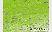 Physical Map of Dortmund