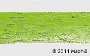 Physical Panoramic Map of Dortmund