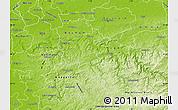Physical Map of Ennepe-Ruhr-Kreis