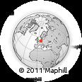Outline Map of Hochsauerlandkreis