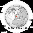 Outline Map of Märkischer Kreis