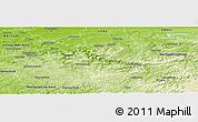 Physical Panoramic Map of Märkischer Kreis
