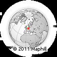 Outline Map of Arnsberg