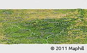 Satellite Panoramic Map of Arnsberg