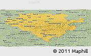 Savanna Style Panoramic Map of Arnsberg