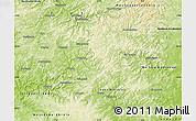Physical Map of Siegen-Wittgenstein