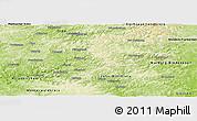 Physical Panoramic Map of Siegen-Wittgenstein