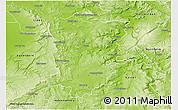 Physical 3D Map of Höxter