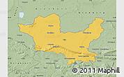 Savanna Style Map of Minden-Lübbecke