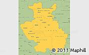 Savanna Style Simple Map of Detmold