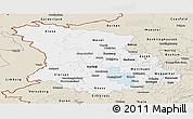 Classic Style Panoramic Map of Düsseldorf