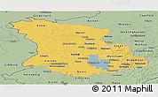Savanna Style Panoramic Map of Düsseldorf