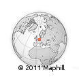 Outline Map of Remscheid