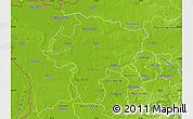 Physical Map of Wesel