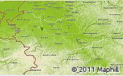 Physical 3D Map of Köln