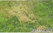 Satellite 3D Map of Köln