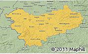 Savanna Style 3D Map of Köln