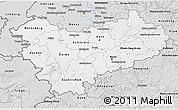 Silver Style 3D Map of Köln