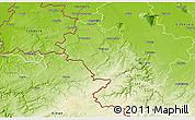 Physical 3D Map of Aachen