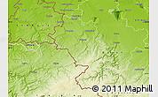 Physical Map of Aachen