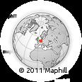 Outline Map of Bonn