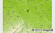 Physical Map of Düren