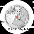 Outline Map of Düren